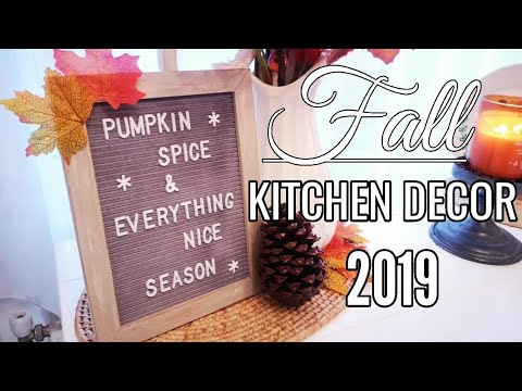 FALL KITCHEN TOUR 2019 | COZY UP FOR FALL