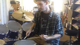 Bern's Drums Lesson 2 - Mitch Mitchell Little Wing Drum Fill