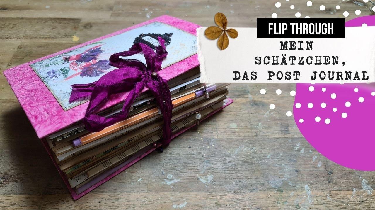 mein Schätzchen, das Post Journal! 🟢 FLIP THROUGH 🟢 Ich beantworte Eure Fragen!