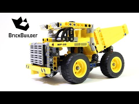 Lego Technic 42035 Mining Truck - Lego Speed build - YouTube