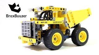 Lego Technic 42035 Mining Truck - Lego Speed Build