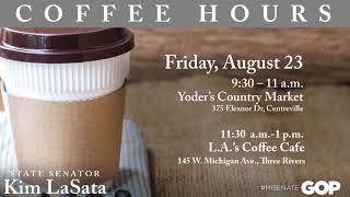 Sen. LaSata announces upcoming coffee hours