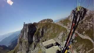 Paragliding Switzerland Pilatus 2132m