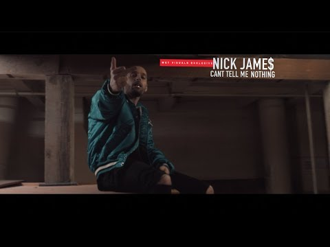 Nick Jame$ - Cant Tell Me Nothing | Dir  by @TheRealJayPusha #OneTake [ Wet Visuals Exclusive ]