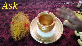 தெய்வீக கலசம் எளிமையான பொருள்களை வைத்து மிக சக்தி வாய்ந்தது