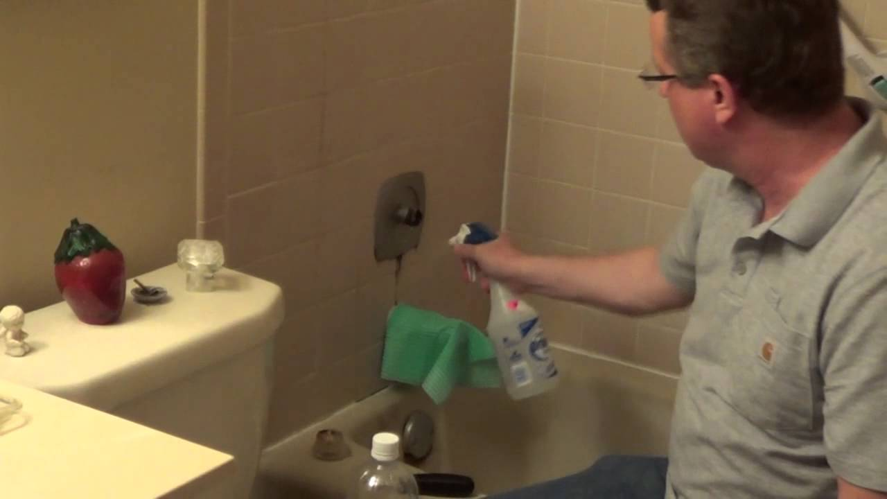 Cleaning with Vinegar - Vinegar Shower Cleaner