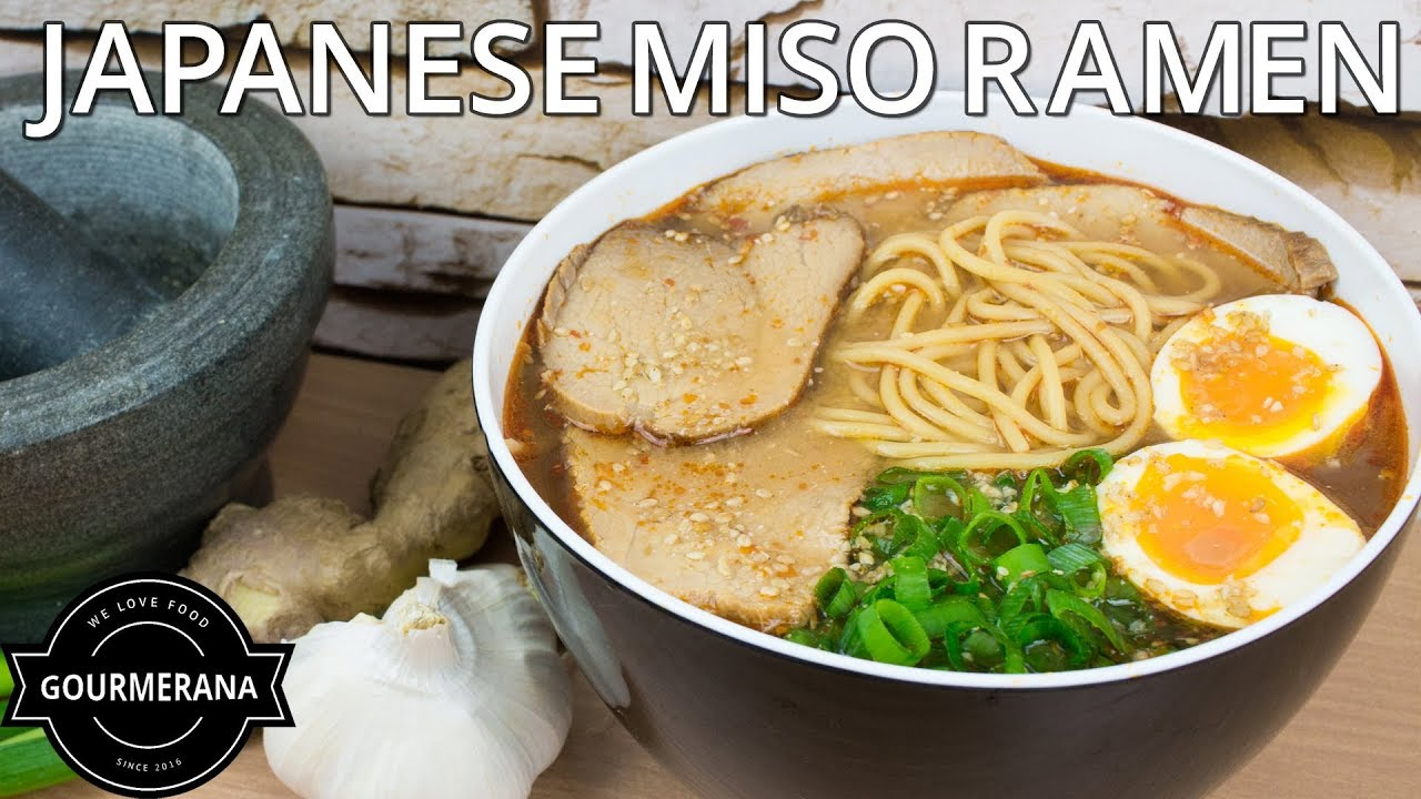 How To Make Miso Ramen A Japanese Style Noodle Soup Stop Motion Recipe