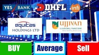 Indian share Market : equitas share : ujjivan share : dhfl share : yesbank share