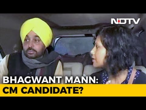 Bhagwant Mann: AAP's Chief Ministerial Candidate?