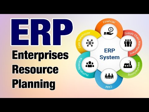 ERP- Enterprises Resource Planning explained in hindi