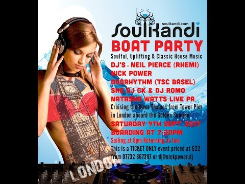 Soul Kandi Boat Party - 9th September 2017