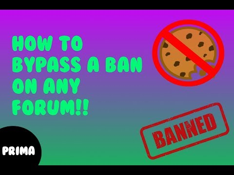 How To Bypass A Ban On Any Forum V3rmillion Nulled Etc Youtube