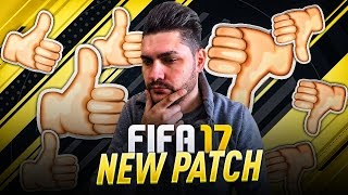 FIFA 17 NEW PATCH FOR GAMEPLAY - FIXED GLITCHES - LAG / DELAY PROBLEM FIXED -  BEST NEW IMPROVEMENTS