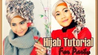 Tutorial Hijab Segi Empat Pesta Wisuda Beaded J by Didowardah #1