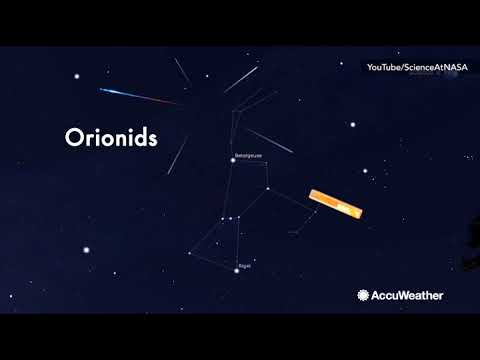 Orionid Meteor Shower to peak on Oct. 20-21st