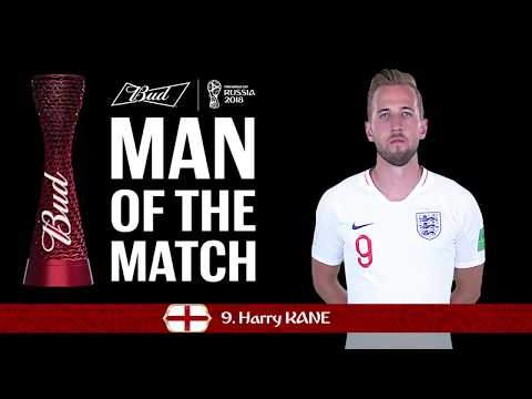 Harry KANE (England) - Man of the Match - MATCH 14