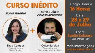 📔 CURSO DE HOME STAGING E FOTOGRAFIAS E VÍDEOS IMOBILIÁRIOS COM SMARTPHONE (CURSO MASTER CARA DA FOTO) 🚴