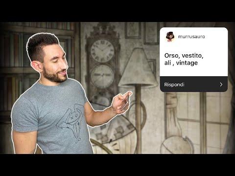 3 PAROLE 1 GENERE 1 DISEGNO | Orso, Vestito, Ali (Vintage) 🐻 - Frappo