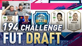 194 DRAFT RECORD CHALLENGE WITH KRASI - FIFA 19 ULTIMATE TEAM