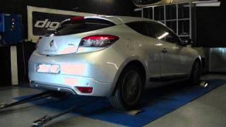 Renault Megane 3 dci 110cv @ 128cv reprogrammation moteur dyno digiservices