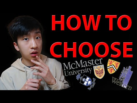 CHOOSING UNIVERSITIES IN ONTARIO (7 Things To Consider) | January 2020 | Western University Canada