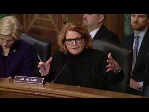 Heitkamp Stresses Importance of Flood Protection during Senate Committee Hearing