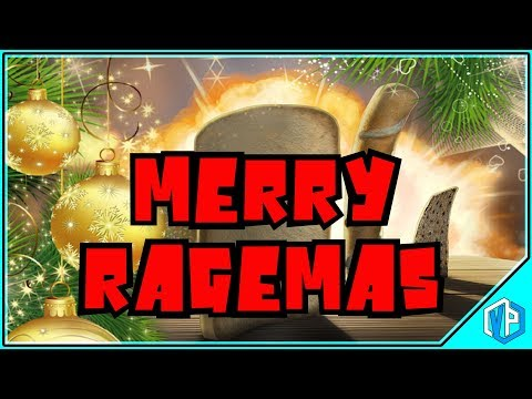 Merry Ragemas - Holiday Gaming Stream I AM BREAD!