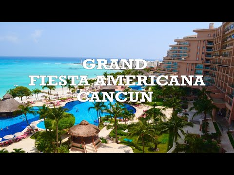 Grand Fiesta Americana Coral Beach Cancun - Amazing View, Pools, Beach