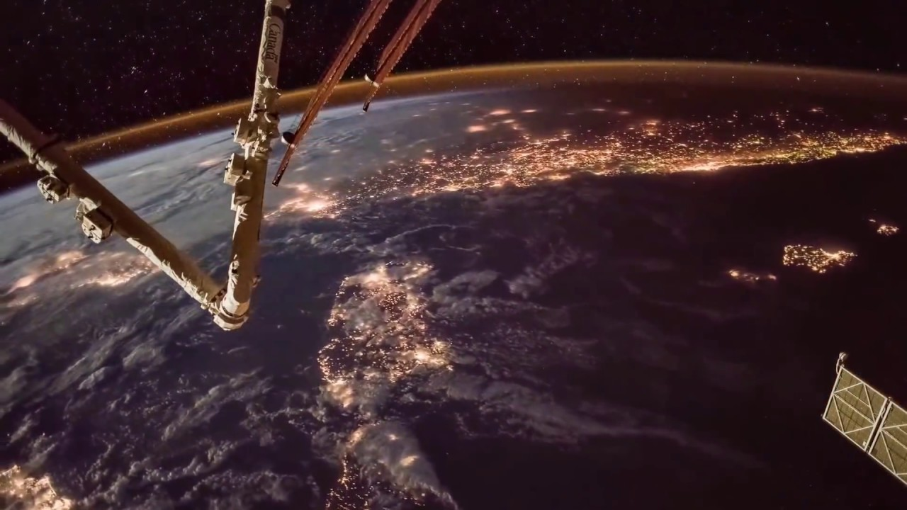 Earth Lights - Earth seen from The International Space Station