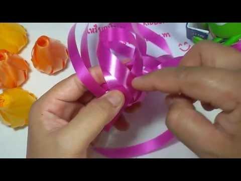 วิธีพับเหรียญโปรยทานดอกกุหลาบตูม by ลูกน้ำ