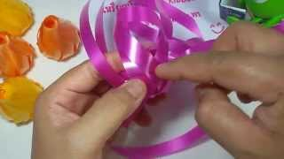 Repeat youtube video วิธีพับเหรียญโปรยทานดอกกุหลาบตูม by ลูกน้ำ