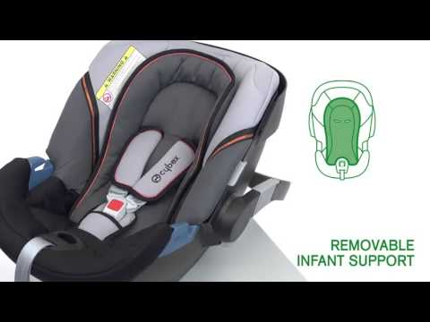 cybex aton 2 group 0 car seat kiddies youtube. Black Bedroom Furniture Sets. Home Design Ideas