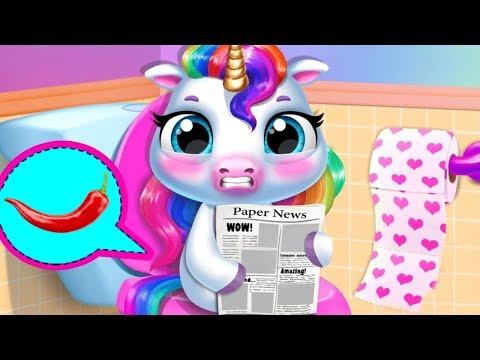Fun Newborn Pony Care Game - My Baby Unicorn - Play Fun Pet Care & Dress Up Mini Games For Kids