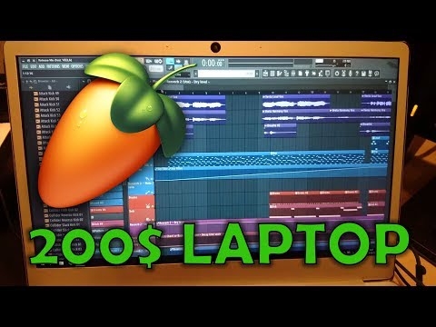 FL Studio on a 200$ laptop