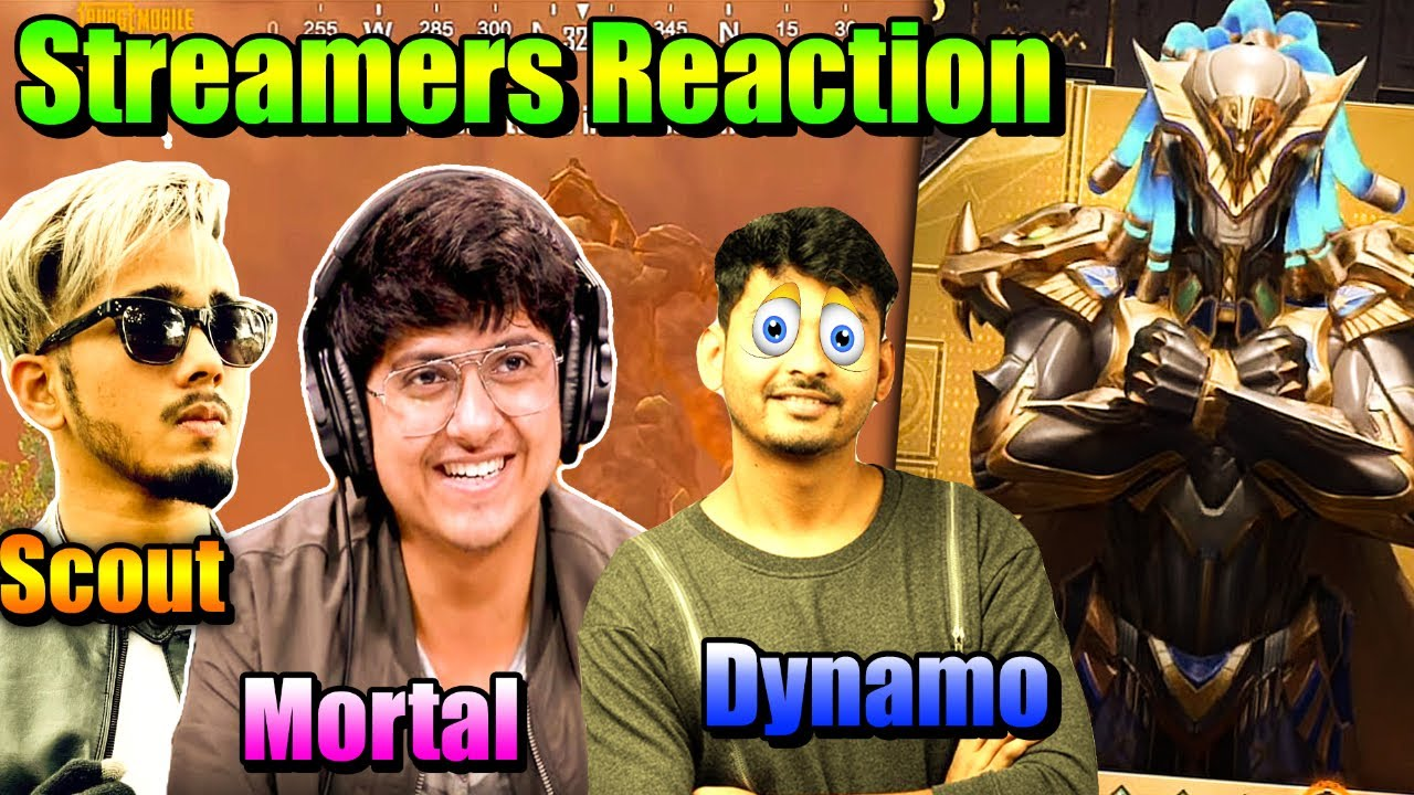 😍 Streamers Reaction On Pharaoh Update | Mortal, Dynamo, Scout