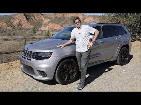First Drive 2019 Jeep Grand Cherokee Trackhawk Youtube