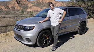 First Drive: 2019 Jeep Grand Cherokee Trackhawk