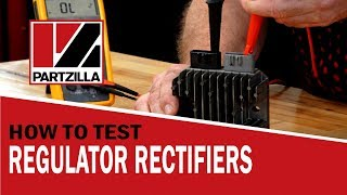 How to Test a Regulator Rectifier - They're Not all the Same! | 3 Phase Rectifier Test | Partzilla