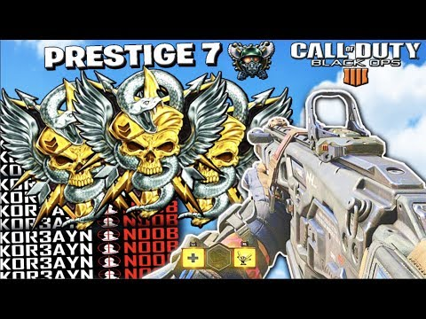 ENTERING PRESTIGE 8 // TOP RANKED COD PLAYER // MULTIPLAYER + TIPS // CALL OF DUTY: BLACK OPS 4
