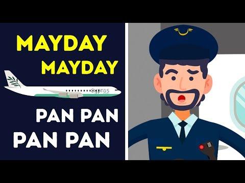 """por-que-os-pilotos-dizem-""""mayday""""-e-""""pan-pan"""""""