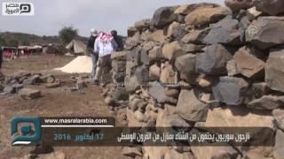 مصر العربية | نازحون سوريون يحتمون من الشتاء بمنازل من القرون الوسطى