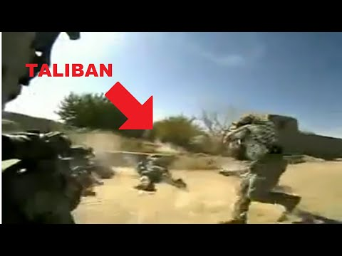 Afghanistan Helmet Cam Combat Video Captures US Soldiers In Intense Close Taliban Ambush