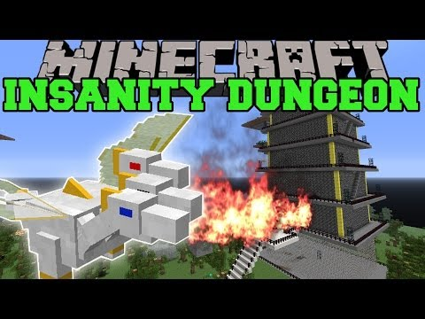 Minecraft: DUNGEON OF INSANITY (THE PRINCE, CRAZY DUNGEON, ROYAL GUARD SET!) Mod Showcase