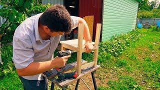 как сделать стул для ребенка из дерева своими руками чертежи
