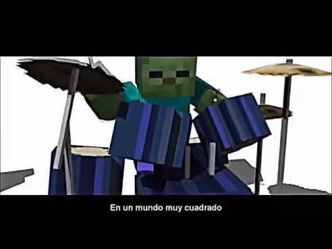 Minecraft creeper vs zombie