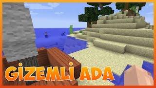 Minecraft Türkçe: Survival Gizemli Ada Haritası (İndirme Link) 1.8.8+