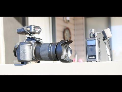 Rode Link News Shooter range test with SmartLav +