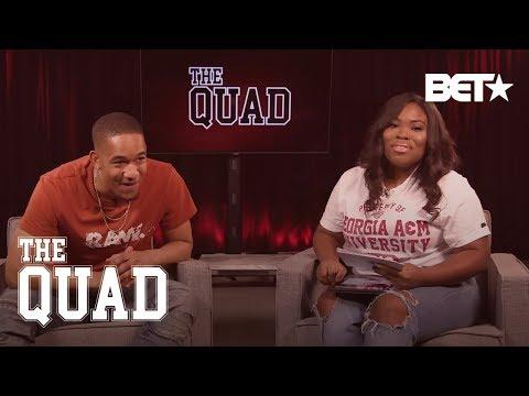 Exclusive Season 2 Premiere Clip + Live Chat With Peyton Alex Smith | The Quad