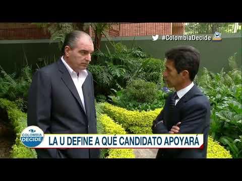 El Partido de la U todavía analiza entre Iván Duque, Germán Vargas y Sergio Fajardo