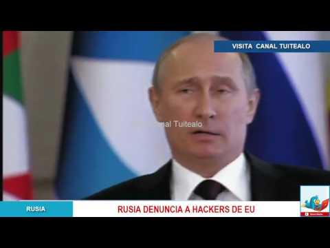 Rusia denuncia a hackers de EU Video Hackean sitio web de Putin